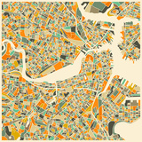 Boston Map Posters by Jazzberry Blue