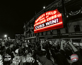 Wrigley Field after Game 7 of the 2016 World Series Spotlight Photo