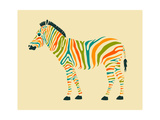 Zebra Posters by Jazzberry Blue