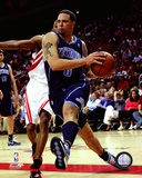 Deron Williams 2007-08 Playoff Action Photo