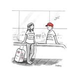 I Survived Thanksgiving - Cartoon Regular Giclee Print by Benjamin Schwartz