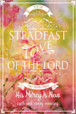 Steadfast Love Of The Lord Posters