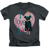 Juvenile: I Love Lucy- Heart You Shirts