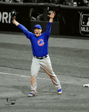 Anthony Rizzo celebrates the final out of Game 7 of the 2016 World Series Spotlight Photo