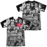 I Love Lucy- Faces (Front/Back) Sublimated