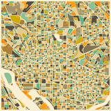 Washington D.C. Map Prints by Jazzberry Blue