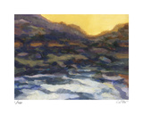 River at Dusk Limited Edition by Carl Stieger