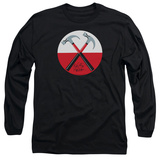 Long Sleeve: Pink Floyd- Hammers Button T-shirts