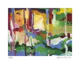 Abstract Grove 1 Limited Edition by Barbara Rainforth