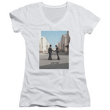 Juniors: Pink Floyd- Wish You Were Here V-Neck Womens V-Necks