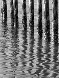 Reflections from an Old Pier 2 Giclee Print by Don Paulson