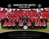 Manchester United- Team Photo 16/17 Plakat