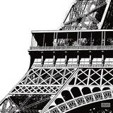 Tour Eiffel Zoom Poster av Dominique Massot