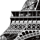 Tour Eiffel Zoom Poster por Dominique Massot