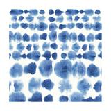 Indigo Tie Dye II Art by Aimee Wilson