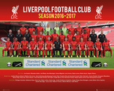 Liverpool FC- Team Photo 16/17 Prints