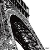 Tour Eiffel Curve Pôsters por Dominique Massot