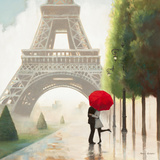 Paris Romance II Poster por Marco Fabiano