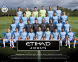 Manchester City- Team Photo 16/17 Posters