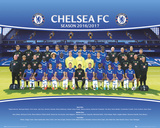 Chelsea FC- Team Photo 16/17 Poster