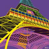Tour Eiffel Happy Pôsters por Dominique Massot