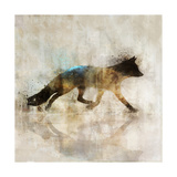 Fox Walk I Prints by Ken Roko