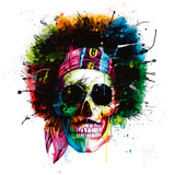 Woodstock Skull Posters av Patrice Murciano