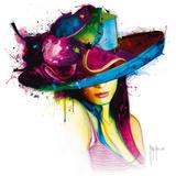 La Jeune Fille au Chapeau Plakater af Patrice Murciano