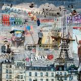 Maïlo / M-L Vareilles - Les peintres de graffitis: Paris Reprodukce