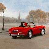 A Ride in Paris III Plakater av Marco Fabiano