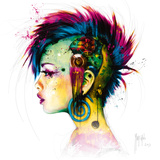 Cyber Punk Posters por Patrice Murciano