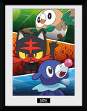 Pokemon - Alola Partners Collector Print