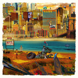 Yves Krief - Fantastic Day Umění