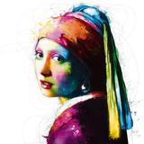 Vermeer Pop Poster von Patrice Murciano