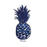 Indigo Pineapple Prints by Aimee Wilson
