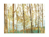 Abstract Forest Plakater af Allison Pearce