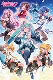 Hatsune Miku- Group Posters