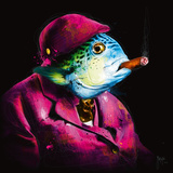 Oncle Sushi Plakater af Patrice Murciano