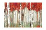 Red Landscape Plakater af Allison Pearce