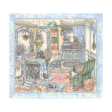 Sewing Room Giclee Print by Kim Jacobs