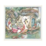 Swan Boat Giclee Print by Kim Jacobs