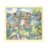 Morningside Cottage Giclee Print by Kim Jacobs