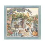 Pumpkin Shed Giclee Print by Kim Jacobs