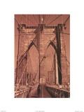 Brooklyn Bridge - tall Prints by Unknown