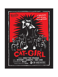 The Cat Girl Print by  Emily the Strange