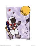 Rocketman II Poster by Diane Stimson