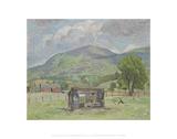 Shack, Jump Mountain [Rockbridge Baths] Giclee Print by Pierre Daura