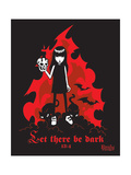 Let There Be Dark Prints by  Emily the Strange