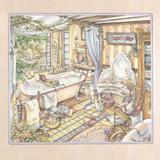 Dream Bath Giclee Print by Kim Jacobs