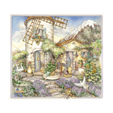 Windmill Giclee Print by Kim Jacobs